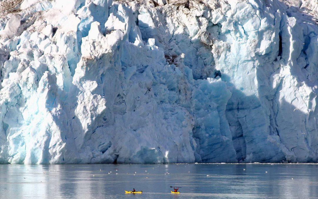 Groenlandia en kayak